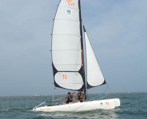Catamaran New-cat école de voile de cherbourg